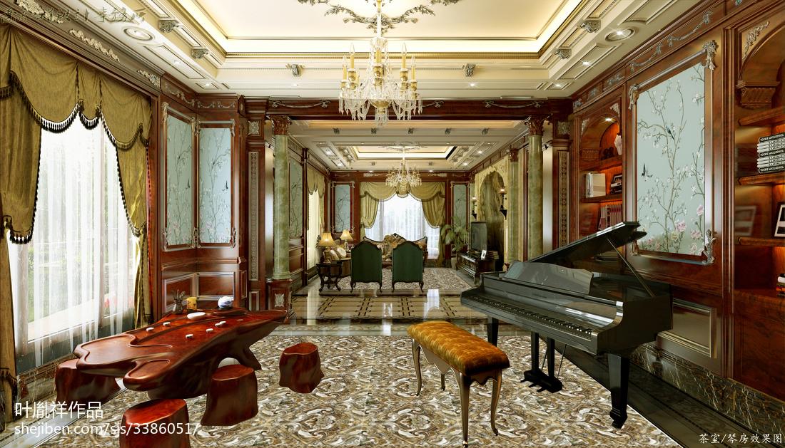 别墅美式装修效果图片