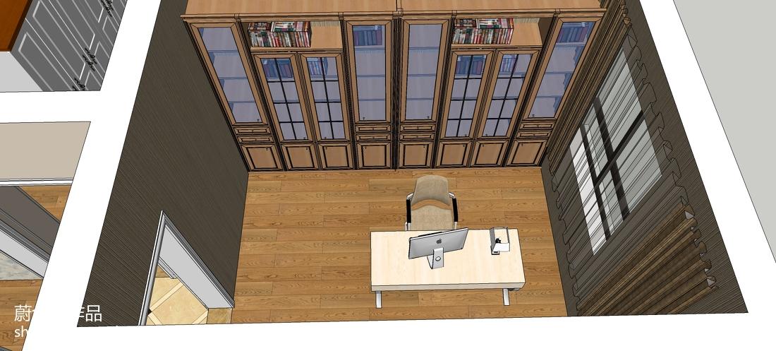 简约时尚个性小卧室装修效果图