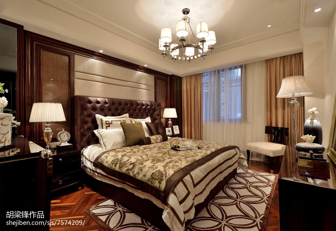 精选中式卧室欣赏图片