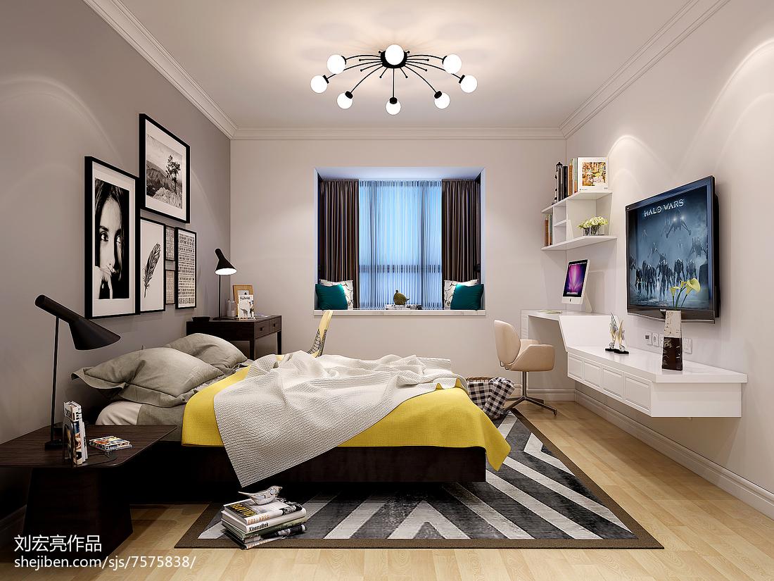 美式二居装修实景图
