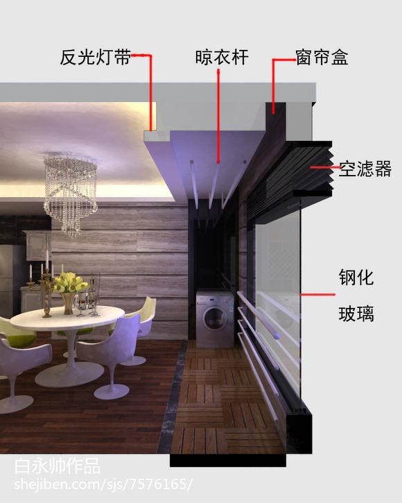 热门84平米二居新古典装修设计效果图片欣赏