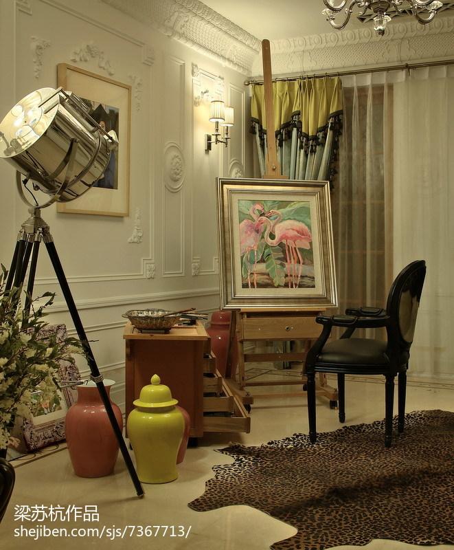 北欧温馨时尚客厅装修效果图
