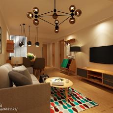 热门二居客厅宜家装修效果图片大全
