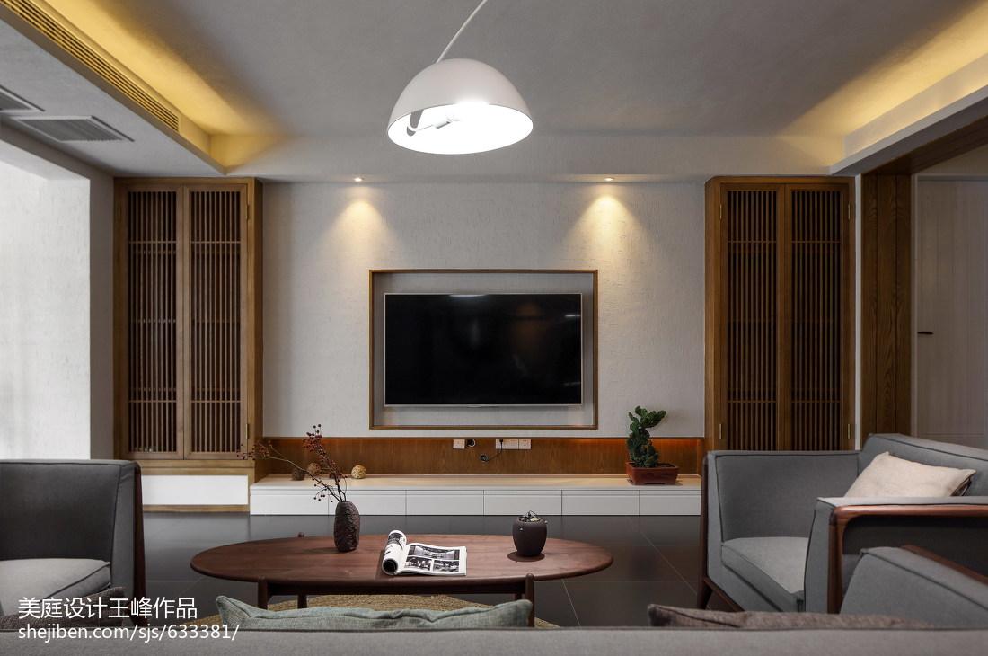 2018精选103平米三居餐厅中式装修设计效果图片