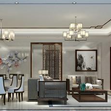 新中式风格书房装修效果图片