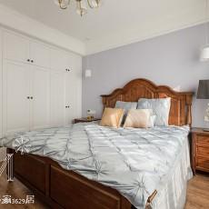 精美面积103平美式三居卧室效果图