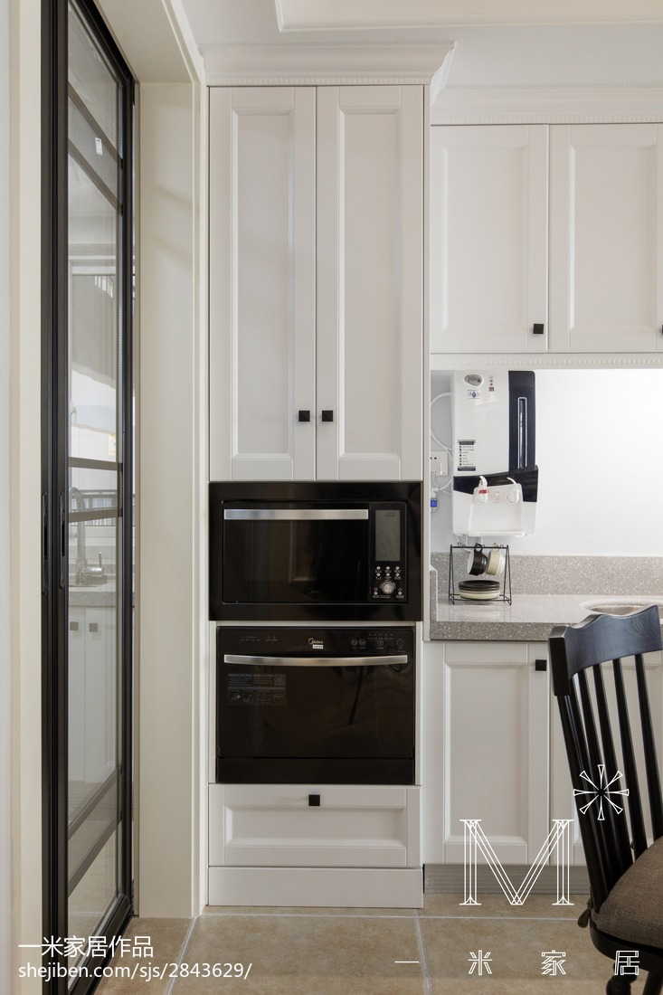 2018美式三居厨房效果图