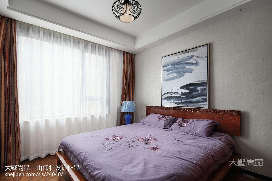 精选面积76平中式二居卧室装修设计效果图