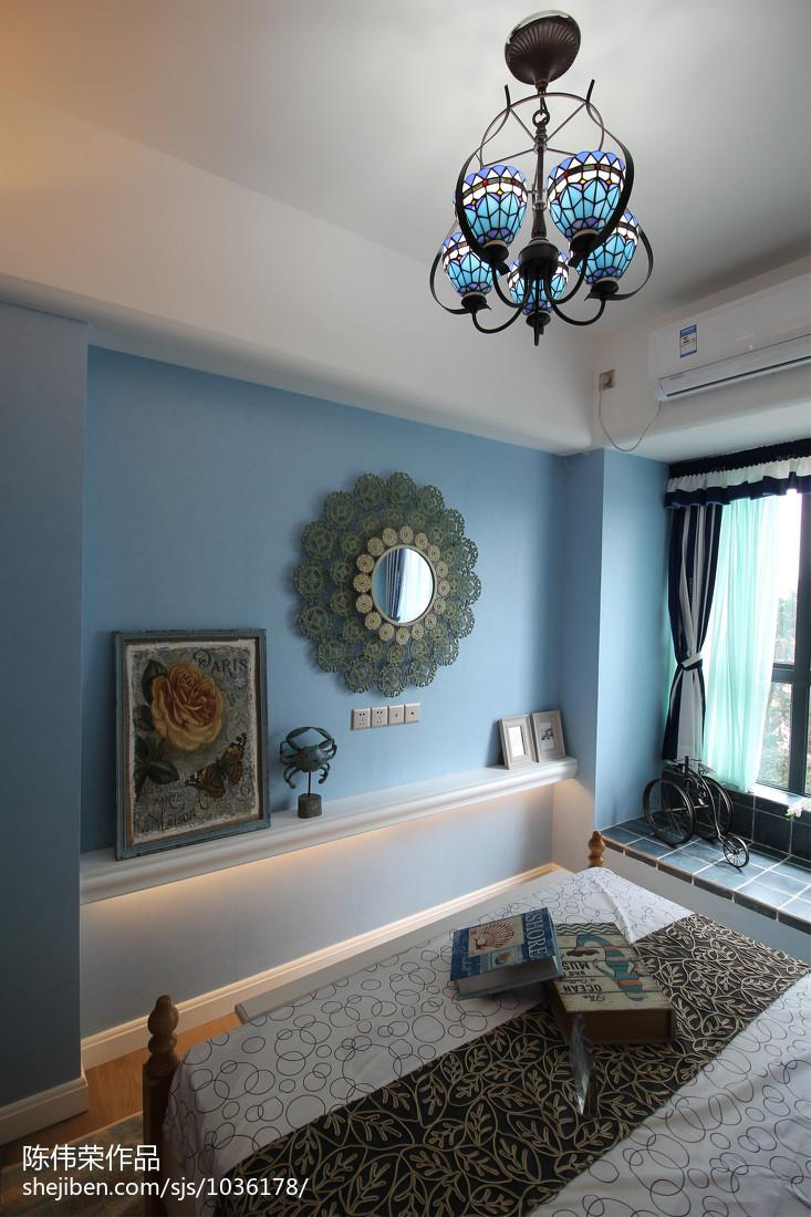 精选卧室地中海装修设计效果图