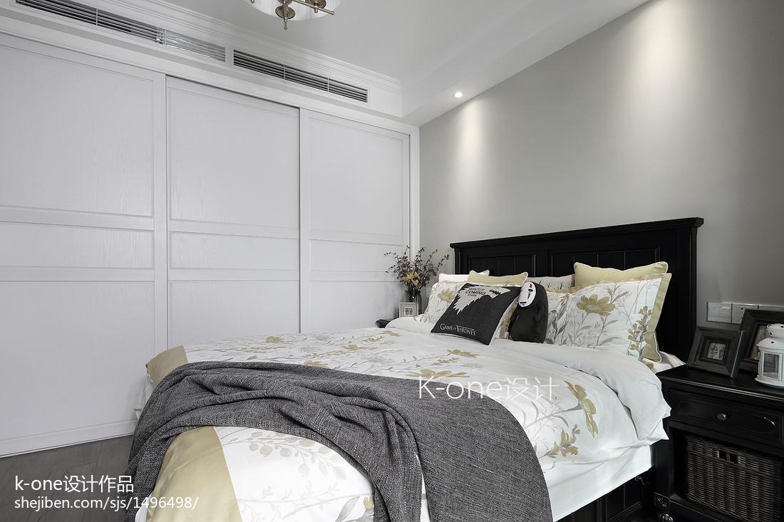 精美50平美式二居卧室图片大全