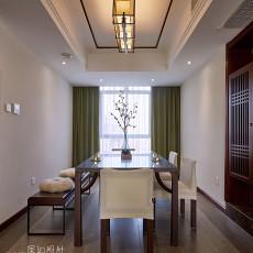 133平方四居餐厅中式装修欣赏图片大全