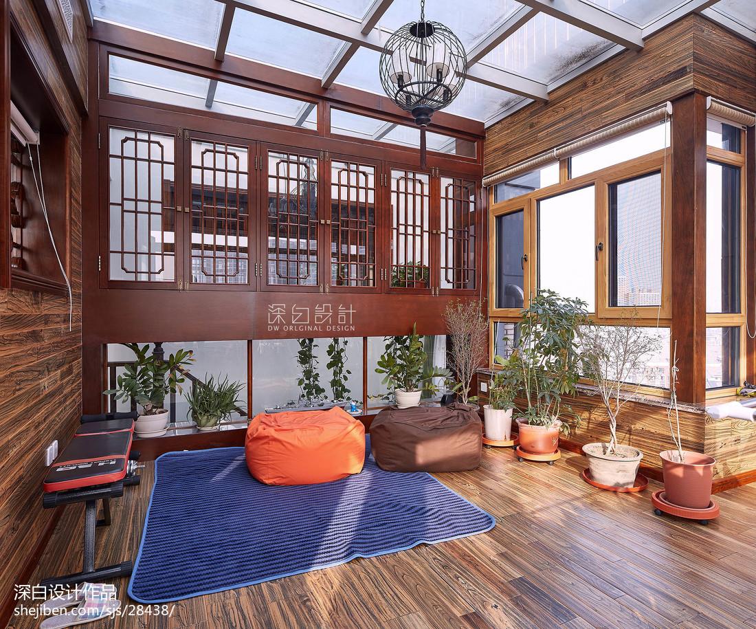 休闲中式风格花园装修