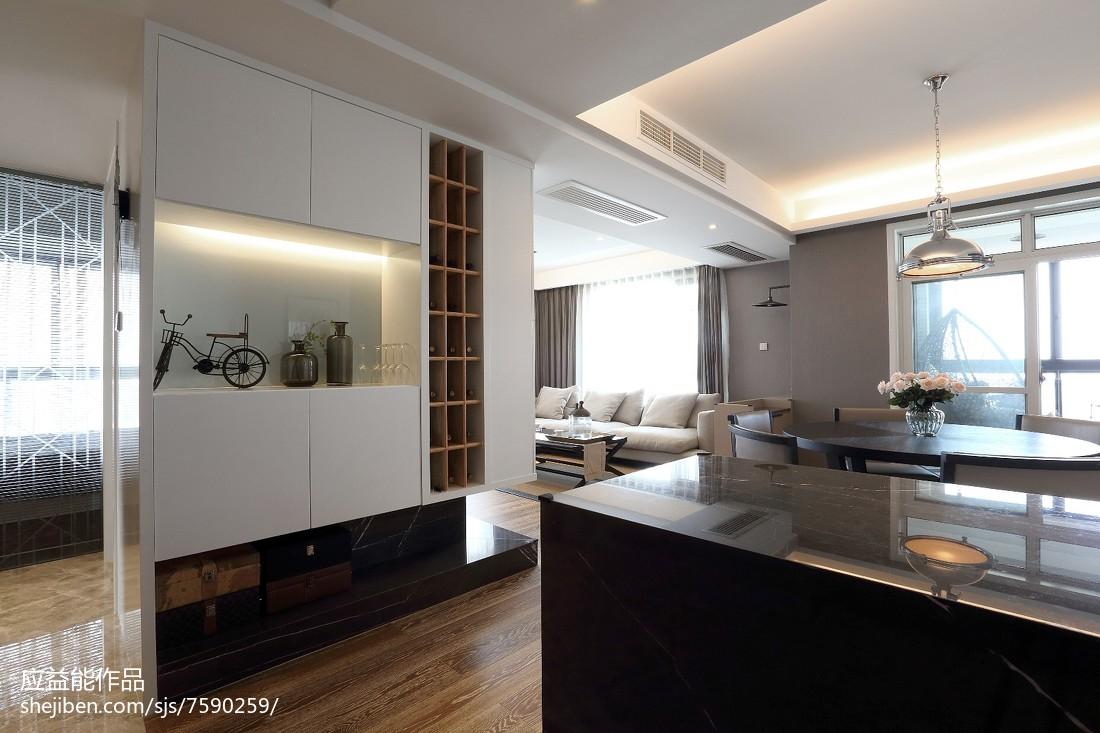三居客厅简欧装修实景图片欣赏