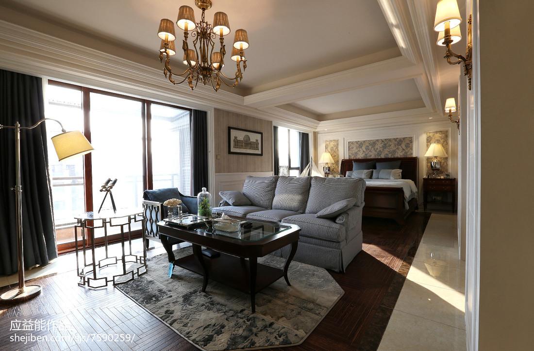 热门127平米欧式别墅客厅装修欣赏图