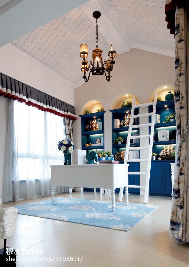 古典简约家居沙发凳装饰效果图片