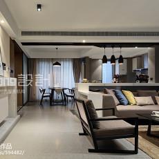 精美143平米四居客厅现代装修设计效果图片大全