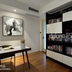 精选133平米四居书房现代装修图片欣赏
