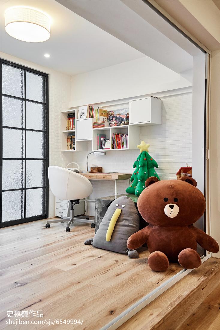 温馨92平LOFT三居儿童房效果图片大全