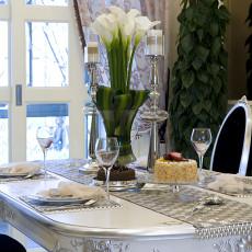 精选134平米四居餐厅欧式装修图片欣赏