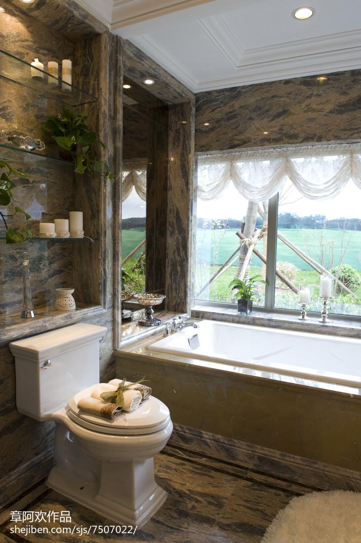 现代风格卫浴样板房设计