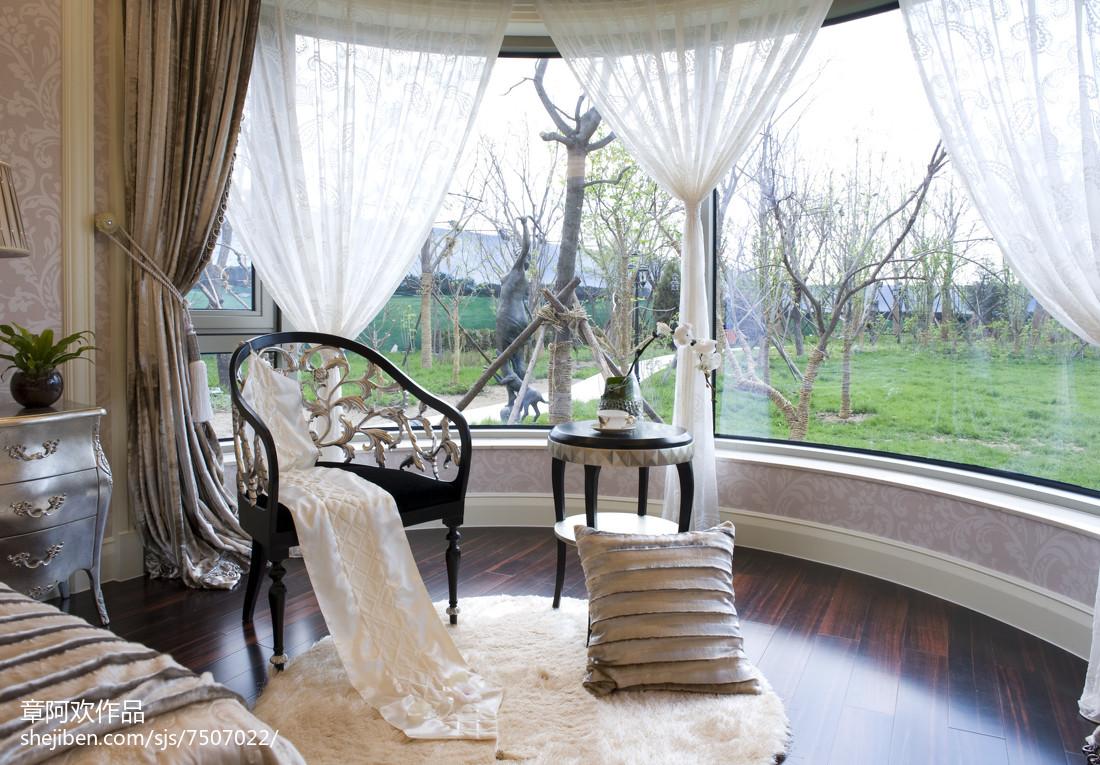 欧式四居卧室装修效果图片欣赏