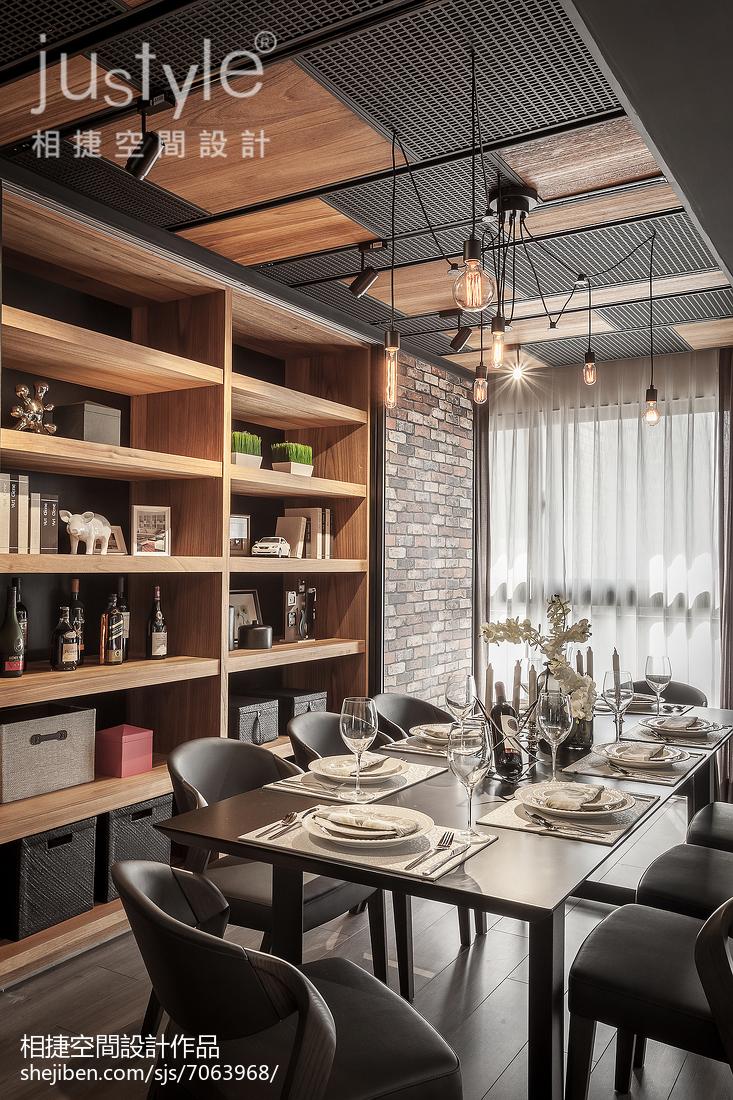 热门118平米四居餐厅装修图片欣赏