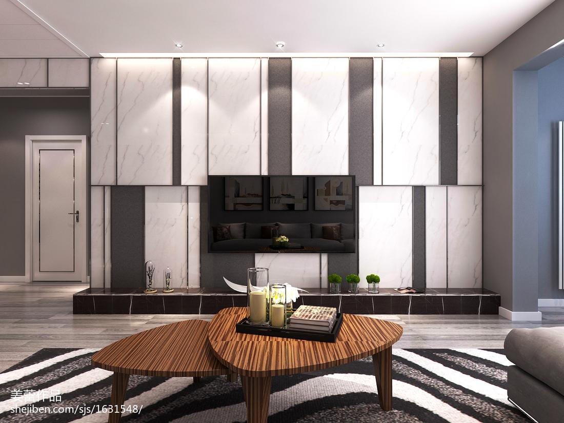 温馨美式客厅装潢设计
