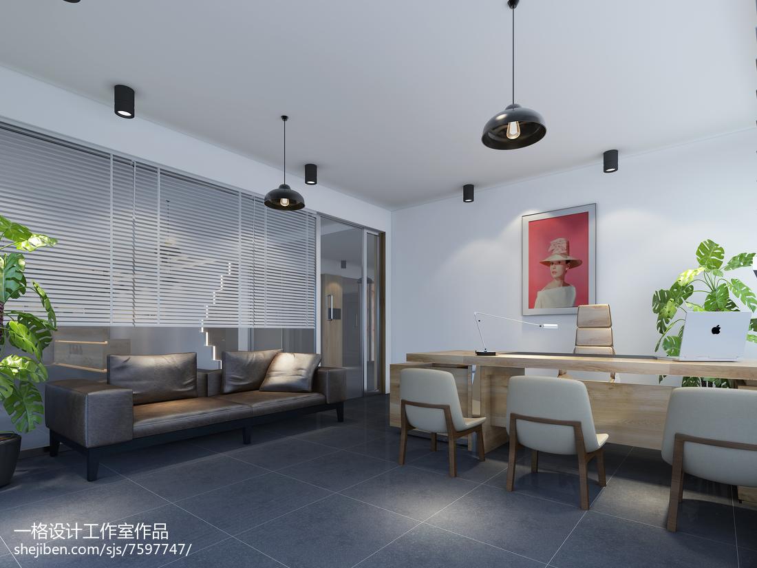 北欧极简主义卧室装修效果图