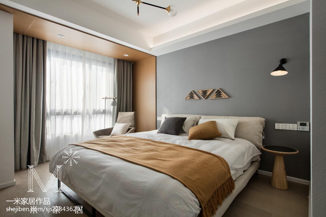 精美北欧风卧室装饰图