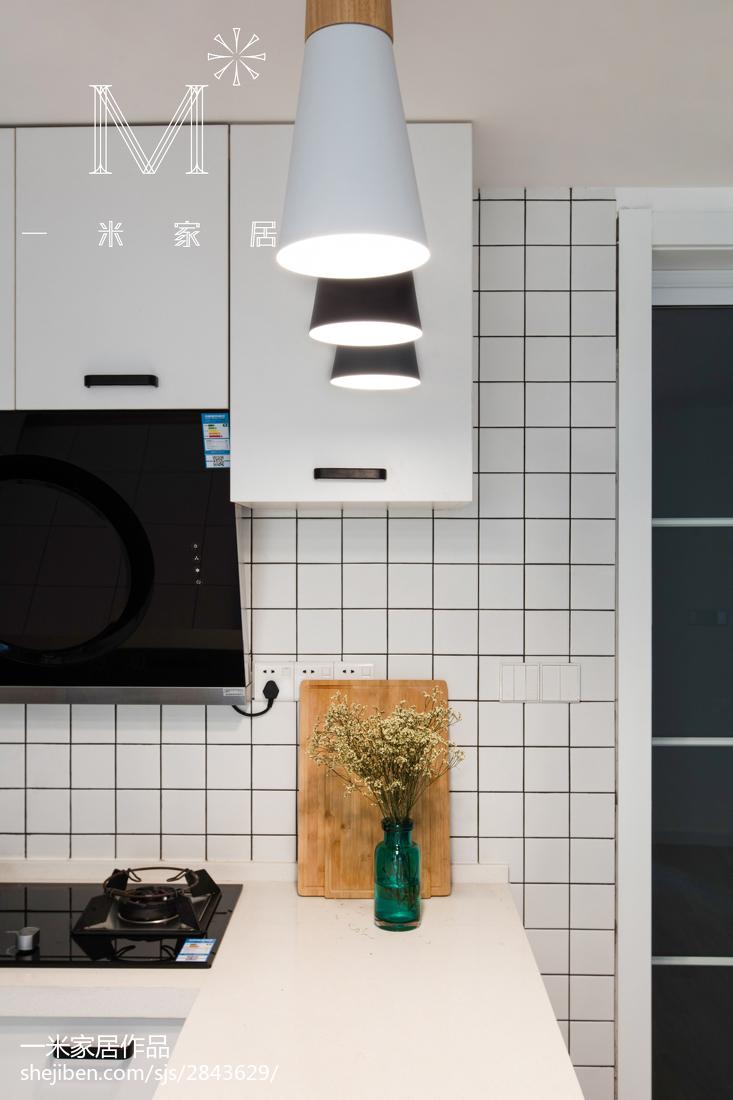 2018北欧三居厨房装修实景图