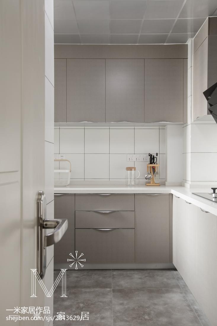 精选三居厨房北欧装修实景图
