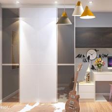 2018二居书房简约装修设计效果图片欣赏