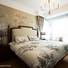 热门面积114平美式四居卧室装修图片欣赏