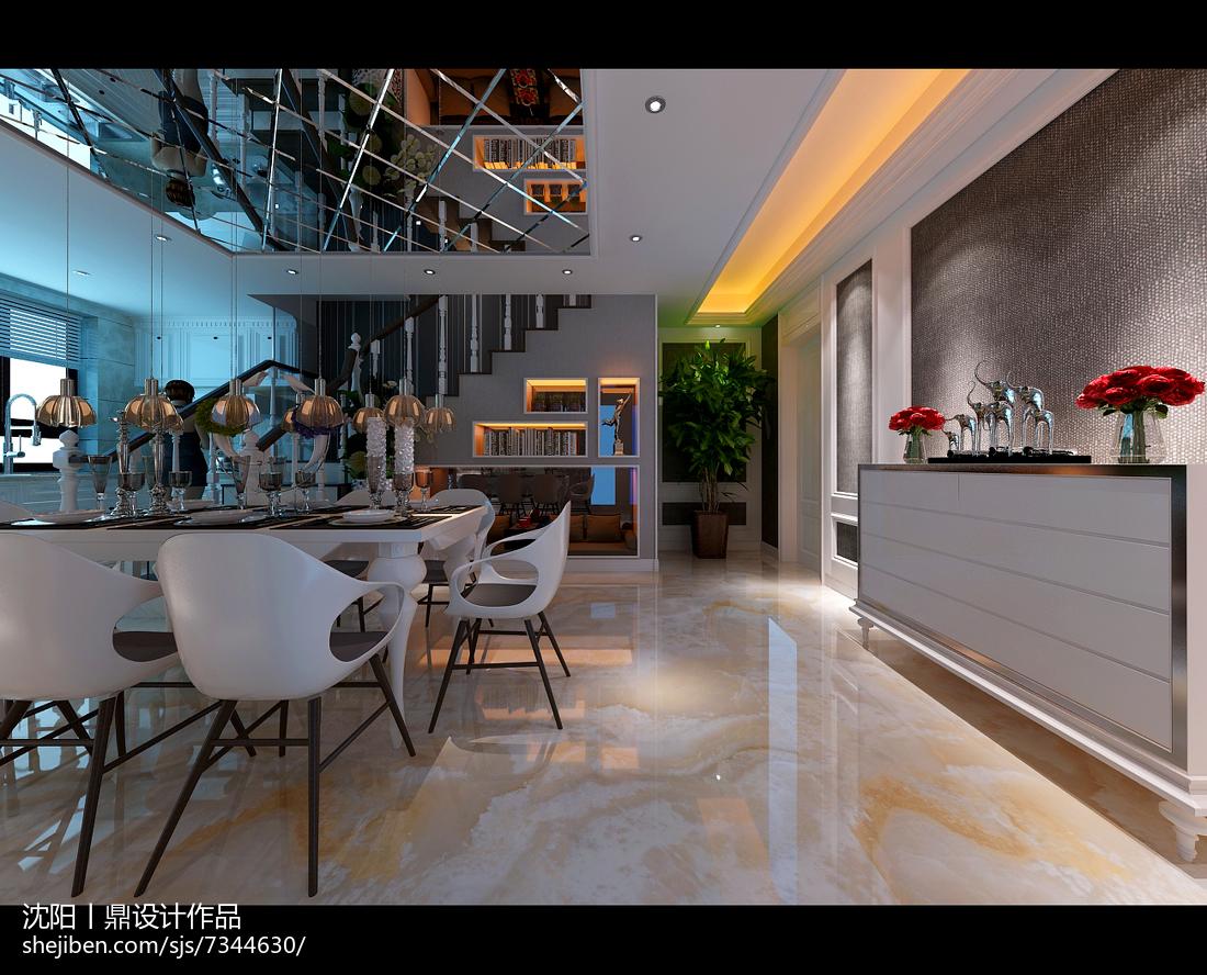 现代气质华美客厅装修效果图