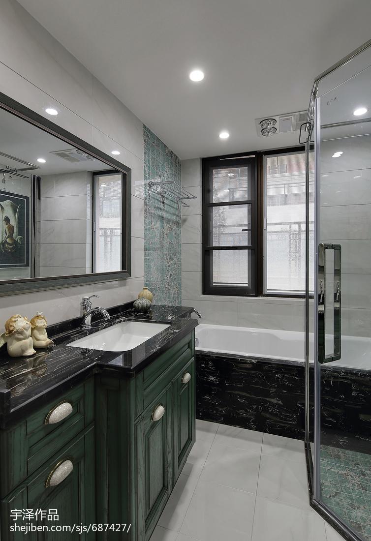 优雅113平美式四居设计案例