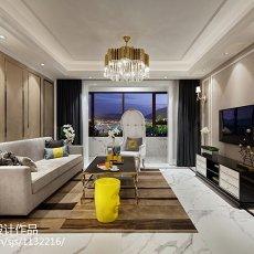 精美新古典客厅装修实景图片