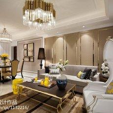 2018新古典客厅装饰图