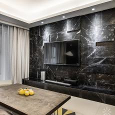 2018面积109平现代三居客厅装修设计效果图片大全