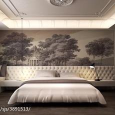 热门125平米现代别墅卧室装修设计效果图片大全