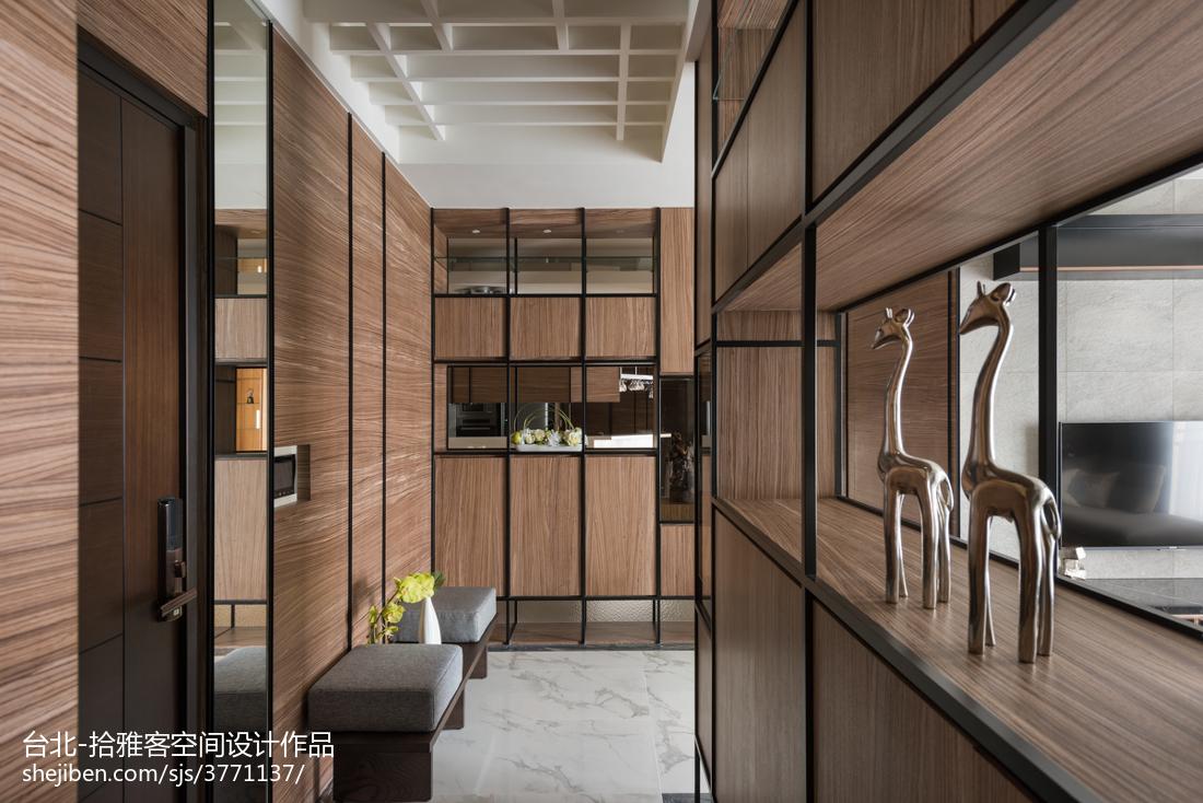 精美面积111平宜家四居玄关装饰图片欣赏