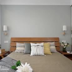 2018精选面积79平现代二居卧室装饰图片大全