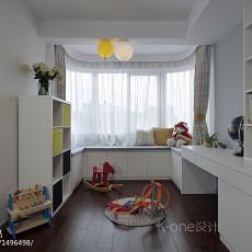 精美90平米二居儿童房现代装修设计效果图