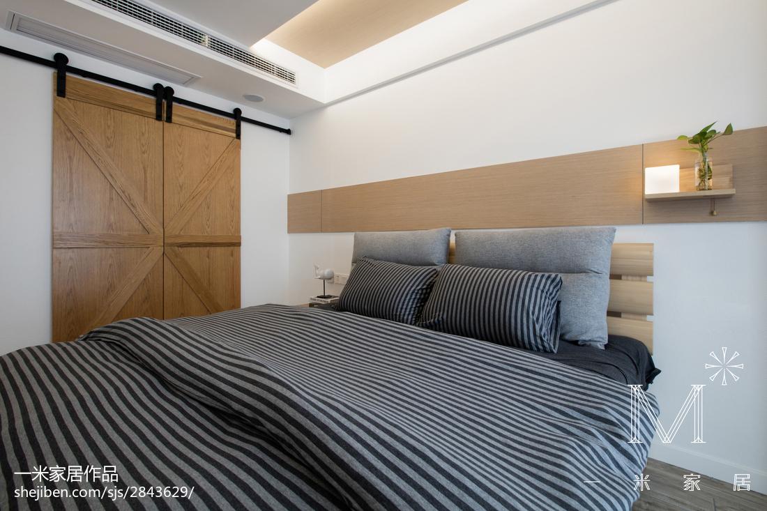 精美64平现代二居卧室效果图片大全