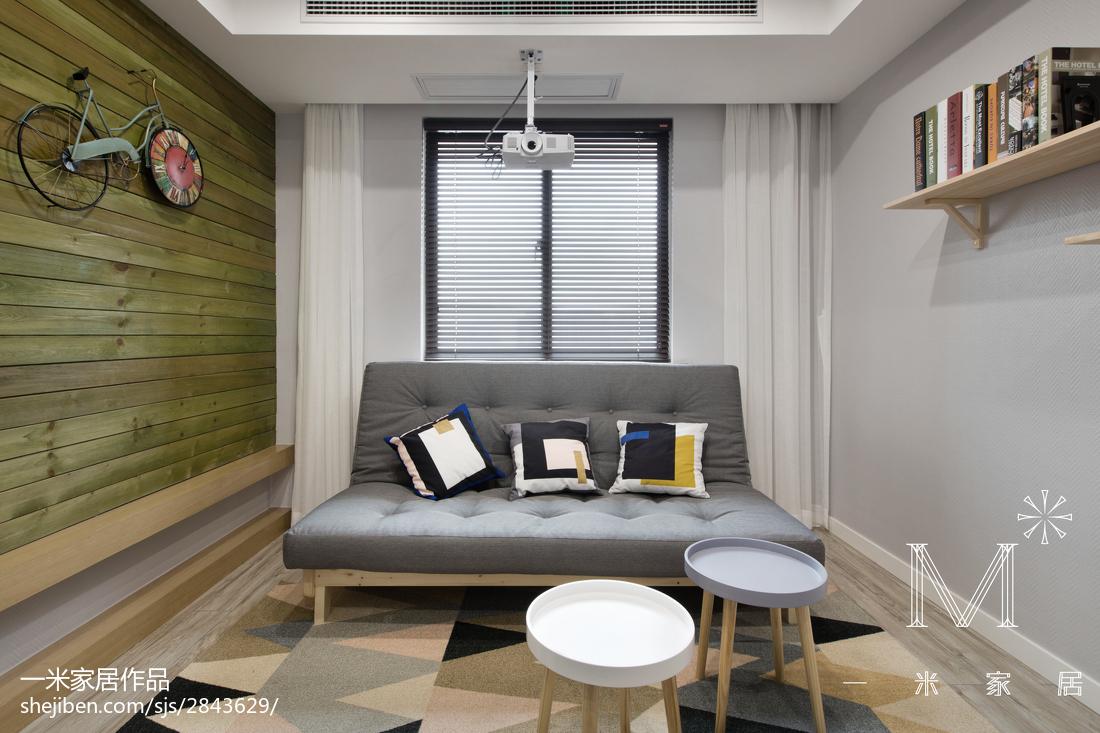 精美63平现代二居休闲区装饰图片
