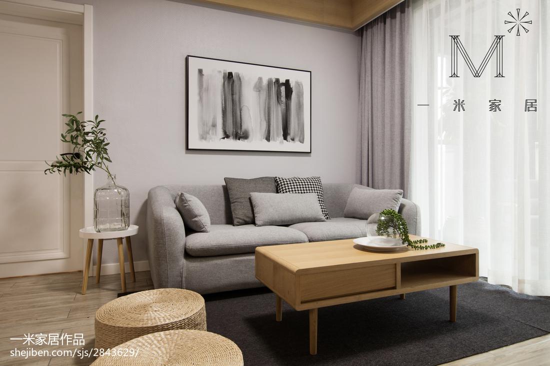 优美88平现代二居装饰美图