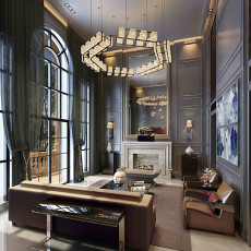 精选面积122平别墅客厅现代装修图片欣赏