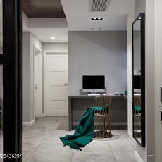 面积105平现代三居餐厅效果图片欣赏