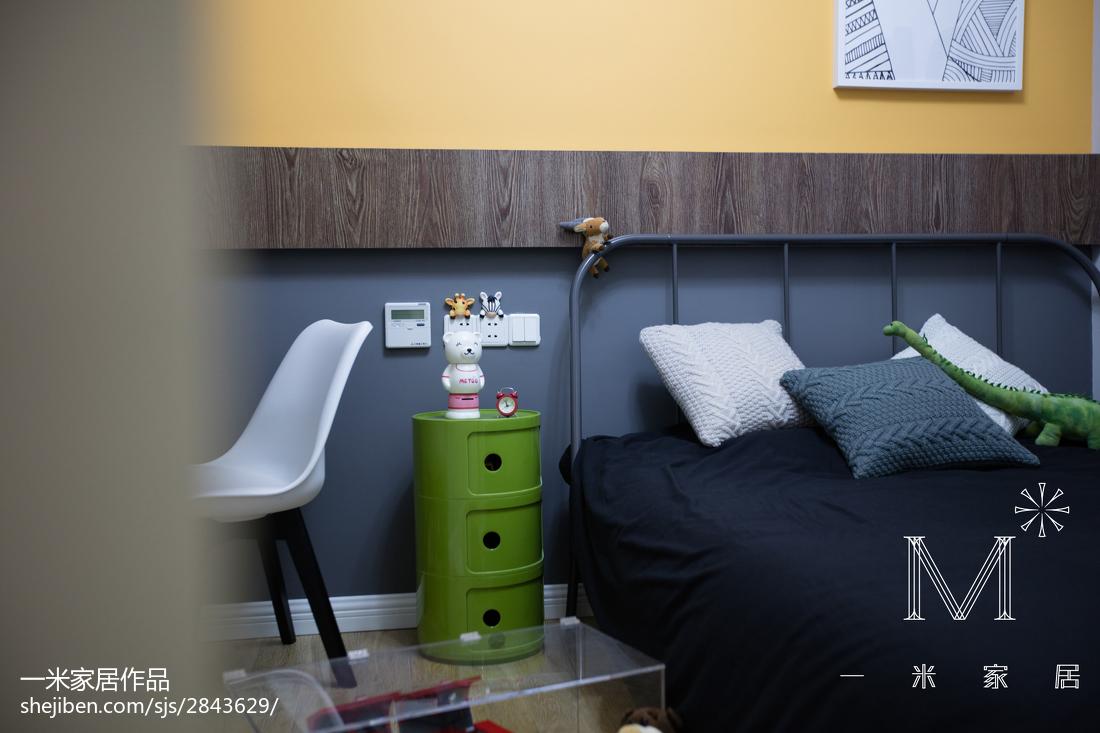 精选面积108平现代三居儿童房装修设计效果图片欣赏