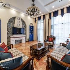 热门地中海别墅客厅效果图片欣赏