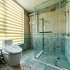 浴室装修新选择,浴室帘子的几个优点